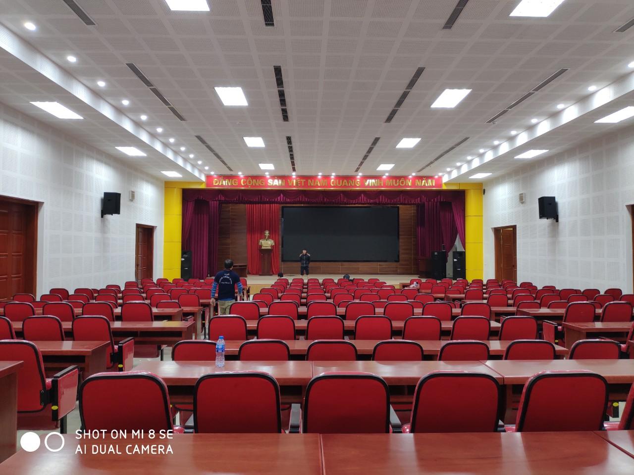Hướng dẫn setup, lắp đặt hệ thống loa hội trường, phòng họp chuyên nghiệp